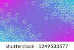 bubble background with shampoo...   Shutterstock .eps vector #1249533577