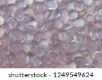 beautiful cabochon rose quartz... | Shutterstock . vector #1249549624