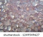beautiful cabochon rose quartz... | Shutterstock . vector #1249549627