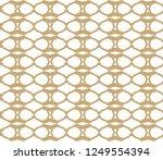 seamless vector pattern in... | Shutterstock .eps vector #1249554394
