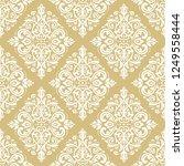orient vector classic golden... | Shutterstock .eps vector #1249558444