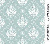 orient vector classic pattern.... | Shutterstock .eps vector #1249558501