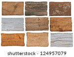 collection of various  empty... | Shutterstock . vector #124957079