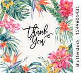vector greeting card of... | Shutterstock .eps vector #1249601431
