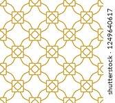 seamless vector pattern.... | Shutterstock .eps vector #1249640617