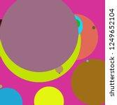 circle geometric lovely... | Shutterstock . vector #1249652104