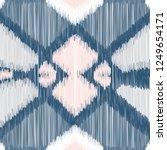 seamless ikat pattern. abstract ... | Shutterstock .eps vector #1249654171