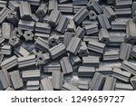 Charcoal Briquettes Texture...