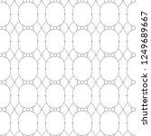 geometric ornamental vector... | Shutterstock .eps vector #1249689667
