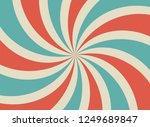sunlight retro horizontal... | Shutterstock .eps vector #1249689847