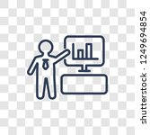 computer systems analyst icon.... | Shutterstock .eps vector #1249694854