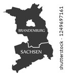 brandenburg   saxony federal... | Shutterstock .eps vector #1249697161