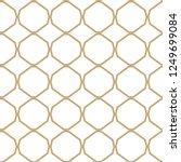 geometric ornamental vector... | Shutterstock .eps vector #1249699084