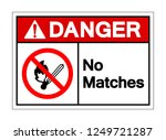 danger no matches symbol sign ... | Shutterstock .eps vector #1249721287