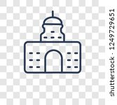 government icon. trendy... | Shutterstock .eps vector #1249729651