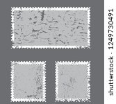 postage stamps in grunge style. ... | Shutterstock .eps vector #1249730491