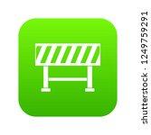 traffic barrier icon digital... | Shutterstock . vector #1249759291