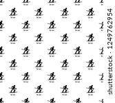 ski race pattern seamless... | Shutterstock . vector #1249762954
