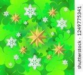 decorative christmas tree... | Shutterstock .eps vector #1249775341