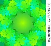 decorative christmas tree... | Shutterstock .eps vector #1249775344