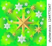 decorative christmas tree... | Shutterstock .eps vector #1249775347
