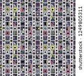 seamless vector pattern ...   Shutterstock .eps vector #1249805311