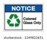 notice colored glass only... | Shutterstock .eps vector #1249822651