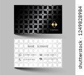 black  and gold modern business ... | Shutterstock .eps vector #1249828984