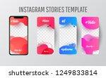editable story template... | Shutterstock .eps vector #1249833814