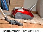 vacuum cleaner on floating...   Shutterstock . vector #1249843471