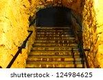 old stone tunnel. underground...