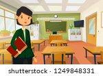 teacher at school or college ...   Shutterstock .eps vector #1249848331