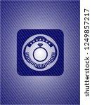 diamond ring icon inside emblem ...   Shutterstock .eps vector #1249857217