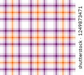 tartan traditional checkered...   Shutterstock . vector #1249873471