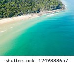 noosa national park aerial view ... | Shutterstock . vector #1249888657