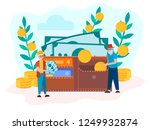 the concept of the deposit ... | Shutterstock .eps vector #1249932874