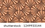 panels in the form of matte red ... | Shutterstock . vector #1249933144