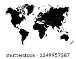 political world map vector... | Shutterstock .eps vector #1249957387