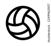 volley  ball  sport  pixel... | Shutterstock .eps vector #1249963507