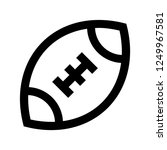 american football  ball  sport  ... | Shutterstock .eps vector #1249967581