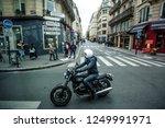 paris  france   october 7  2016 ... | Shutterstock . vector #1249991971