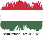 hungary vector grunge brush... | Shutterstock .eps vector #1250014264