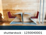 modern working student desk in...   Shutterstock . vector #1250040001