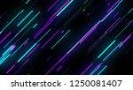 bright neon lines loop  modern...   Shutterstock . vector #1250081407