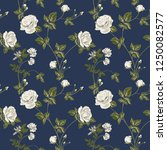 trendy floral background with... | Shutterstock .eps vector #1250082577