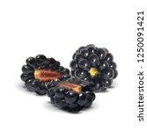 fresh  sweet and tasty... | Shutterstock .eps vector #1250091421