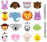 adorable,áfrica,mono,barnyard,animales de granja,oso,ave,brillante,bunny,dibujos animados,gato,pollo,colorido,vaca,lindo
