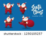 set of cartoon vector... | Shutterstock .eps vector #1250105257