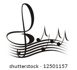 music | Shutterstock .eps vector #12501157