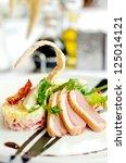 roasted duck | Shutterstock . vector #125014121